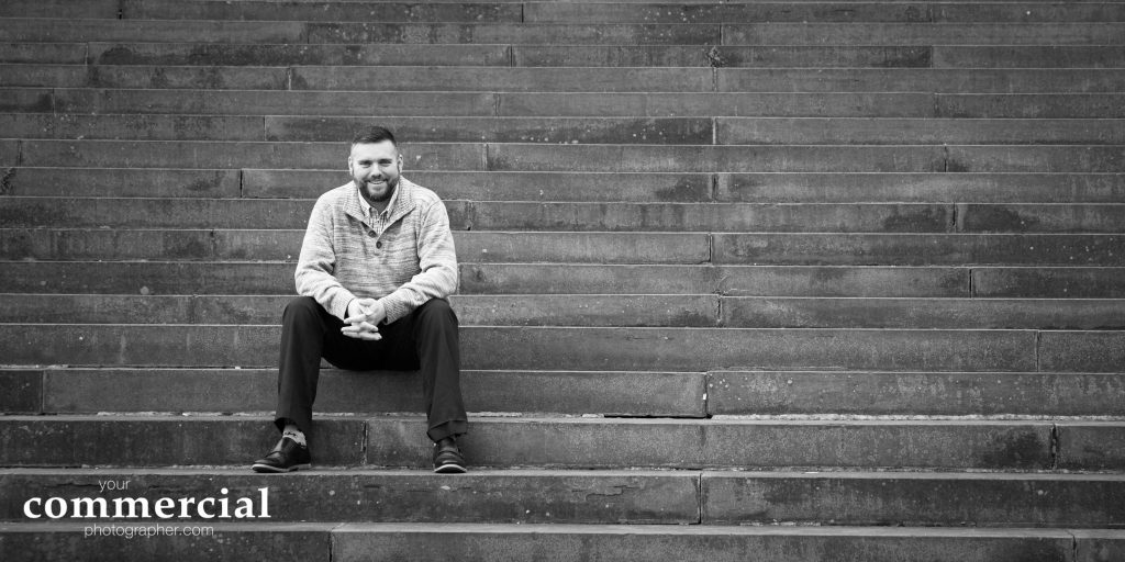 Environmental business portraits in Liverpool by Andrew Collier Photography