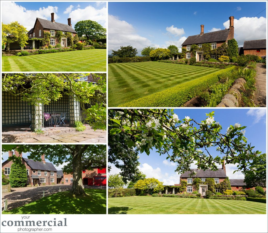 Photography and styling for a country house in Cheshire