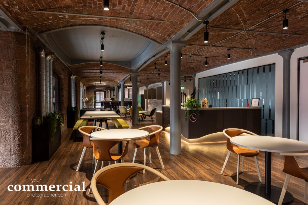 Interiors photography at Clockwise Liverpool