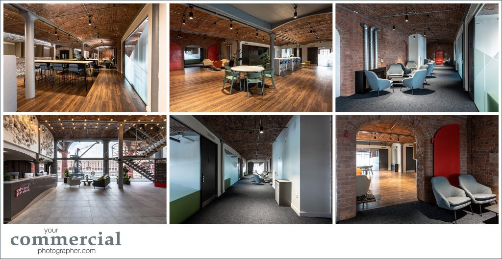 New offices and co-working space at Clockwise Edward, Albert Dock, Liverpool