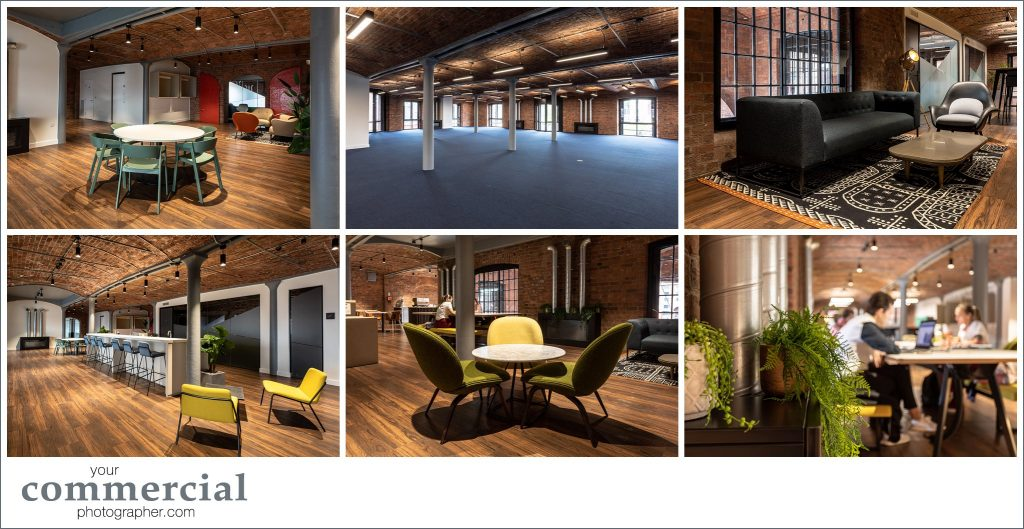 Office photography at Clockwise Edward, Albert Dock, Liverpool