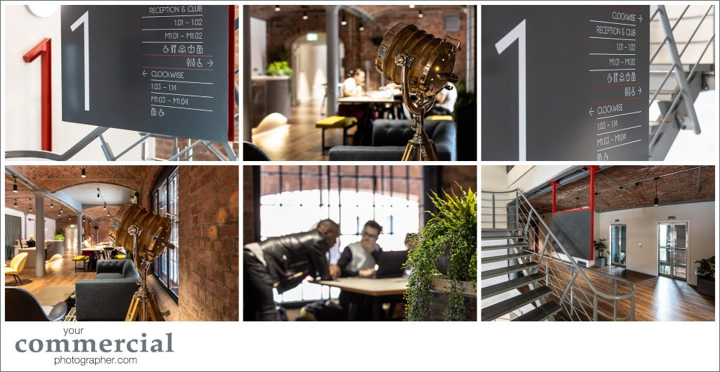 Office Interiors photography at Clockwise Edward, Albert Dock, Liverpool