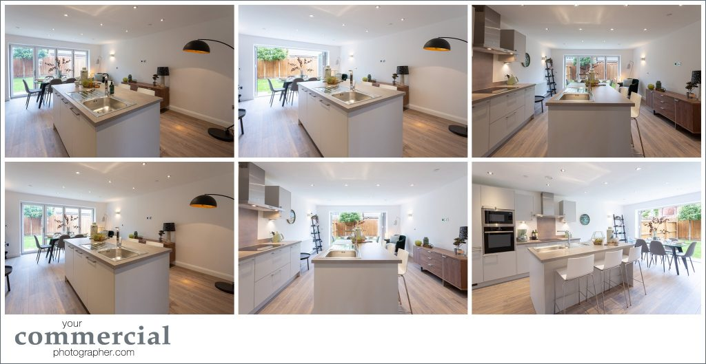 Photography of a new development in Lymm, Cheshire
