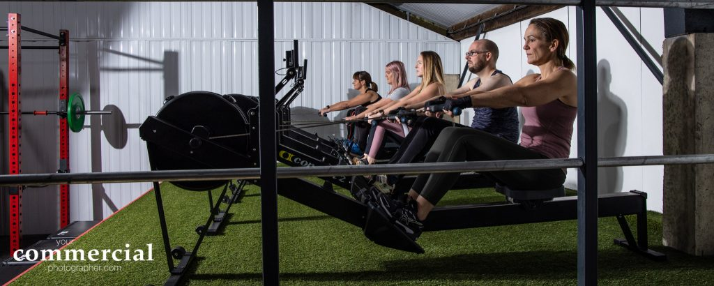 Rowing class at Ultimate Fitness CHeshire Gym in Warrington Cheshire