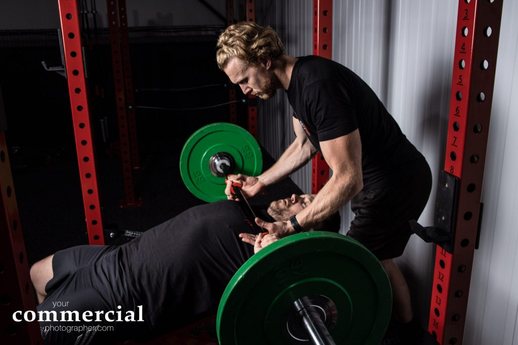 Weight training at Ultimate Fitness Cheshire in Warrington