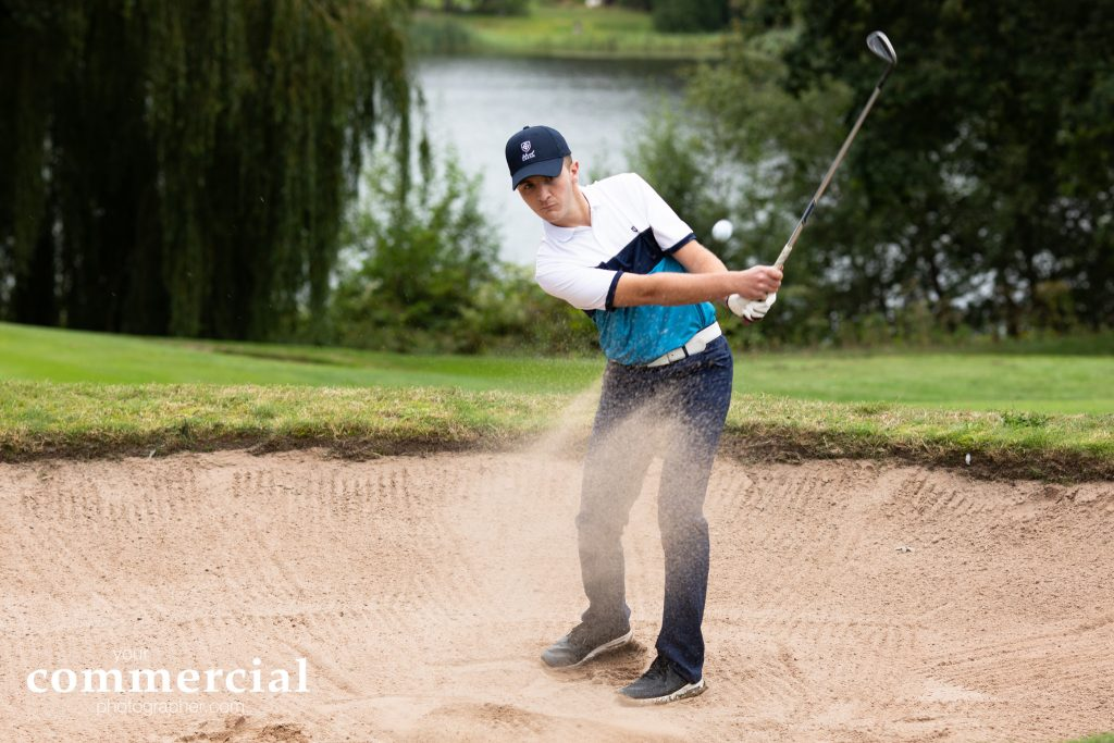 Golf product action shots Cheshire