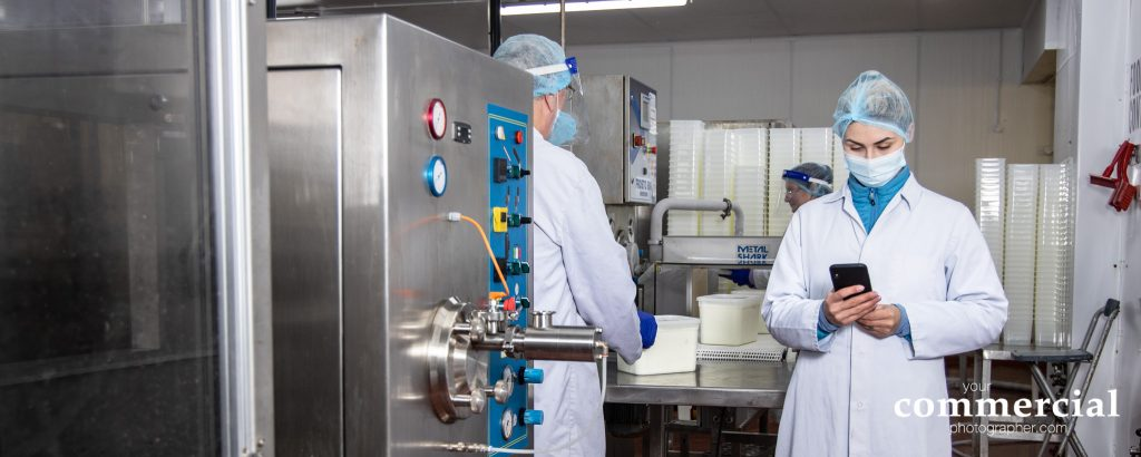 Brand advertising photography for food manufacturing